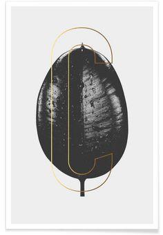 Plants C als Premium Poster door typealive   JUNIQE