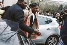 A$AP Rocky at Dior Homme