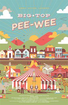 Big Top Pee-wee by DKNG Studios