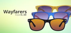 Get Prescription #Sunglasses In A Wide Variety of Attractive #Colors From http://www.shopglasses.co.in/sunglasses-rx-1/