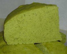 Steamed Matcha Sponge Cake