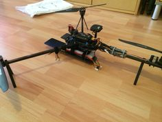 Foldable Tricopter by Madwinter. & Custom canopy for RCExplorer V3 and mini tricopter by ...