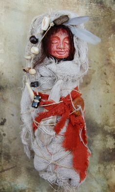 Lakai  Dream Doll  Spirit Doll  Assemblage Doll by SycamoreSuzy