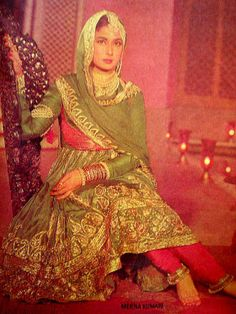 """Meena Kumari one of the most popular actresses from late 40s often cited by media and literary sources as """"The Tragedy Queen"""", both for her frequent portrayal of sorrowful and dramatic roles in her films and her real-life story - wiki"""