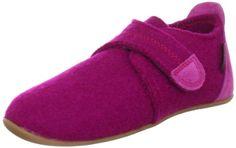 Giesswein Vira 58/10/41485 - Zapatillas de casa de fieltro para niños, color rosa, talla 22