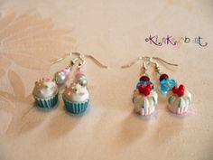 """♥ Candy-Ohrringe """"Muffin"""" von Klunkerbunt auf DaWanda.com"""