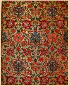 Safavid Floral Textiles of the 16th and 17th centuries