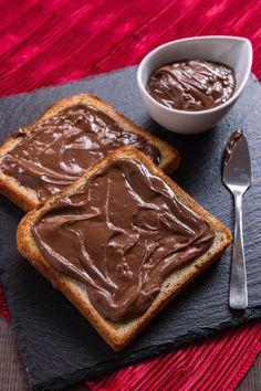 This chocolate sesame butter is quite possibly my new favorite sweet condiment. Rich, chocolatey and nutty, it's delicious on bread, pancakes and french toast, and comes together from 4 ingredients in under 5 minutes.
