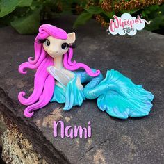 Nami Whisper Fillies Original MerFilly mermaid Pony Horse Sculpture Handmade | Dolls & Bears, Dolls, Art Dolls-OOAK | eBay!