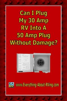 Here is our answer to:  Can I Plug My 30 Amp RV Into A 50 Amp Plug Without Damage?  If you are talking about plugging your 30 Amp RV into a 50 Amp plug at an RV campground, then yes you can safely do it. All you need.... Read More:  http://www.everything-about-rving.com/can-i-plug-my-30-amp-rv-into-a-50-amp-plug-without-damage.html Happy RVing  #rving #rv #camping #leisure #outdoors #rver #motorhome #travel