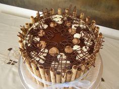 Pirouette cake