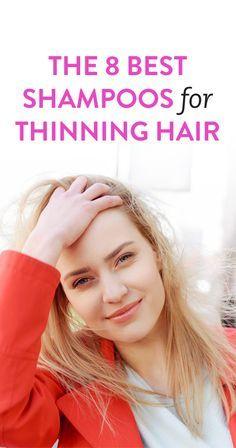 The 8 Best Shampoos For Thinning Hair hair care The Best Shampoos For Thinning Hair, According To A Stylist Thinning Hair Remedies, Shampoo For Thinning Hair, Hair Loss Remedies, Thinning Hair Women, Frizzy Hair, Curly Hair, Hair Growth Tips, Hair Care Tips, Thin Hair Styles For Women