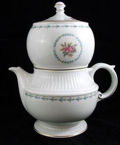 Harmony House MOUNT VERNON Ceramic Coffee Pot GREAT CONDITION