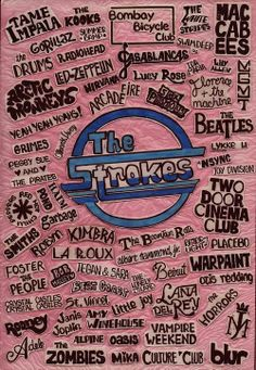 only like about half of these bands (OASIS), but it's a cool poster