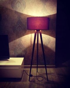 Check out this item in my Etsy shop https://www.etsy.com/listing/564334343/tripod-floor-lamp-black-ash-wood-tripod