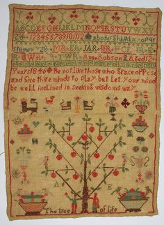Sampler- Beamish Museum Collections   Flickr - Photo Sharing!