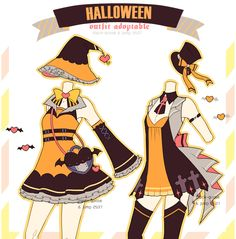 Custom Outfit batch 3 by Black-Quose on DeviantArt Manga Clothes, Drawing Clothes, Dress Drawing, Fashion Design Drawings, Themed Outfits, Character Outfits, Anime Outfits, Halloween Outfits, Magical Girl