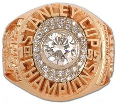 Rings That Bling - Oilers 1985 Stanley Cup Ring Stanley Cup Rings, Hockey Games, Hockey Players, Ring Of Honor, Championship Rings, Edmonton Oilers, Coffee Lover Gifts, National Hockey League, Montreal Canadiens