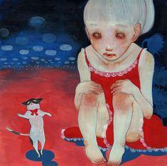 Purrs of the Past: Photo Scary Art, Weird Art, Pretty Art, Cute Art, Aya Takano, Funky Art, Psychedelic Art, Horror Art, Japanese Art