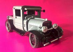 Lego '29 Ford Pickup Hot Rod - 02   by jonathanelliott2