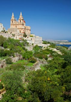 Mellieha in green, Malta by archidave - juli 2013 Beautiful Islands, Beautiful Places, Places To Travel, Places To Visit, Malta Gozo, Malta Island, Dream Vacations, Trip Planning, Tourism