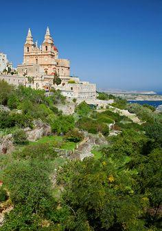 Mellieha in green, Malta by archidave - juli 2013