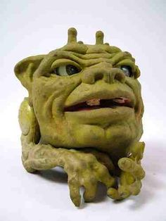 Boglins - Hand Puppet Toy from late 80s #retrotoys