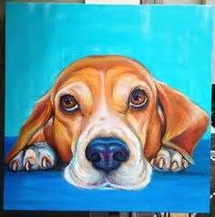 Beagle Dog Painted On a Rock - Yahoo Image Search Results