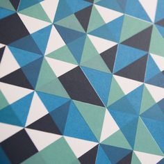 Lancaster-based Bonnie Craig is a pattern artist whose creative practice encompasses printmaking and installations. This image is part of''Power of Threes' – a series of geometric, screen prints in a variety of wonderfully balanced colourways. Online Print Shop, Geometric Art, Limited Edition Prints, Lancaster, Surface Design, Printmaking, Geometry, Print Patterns, Screen Printing