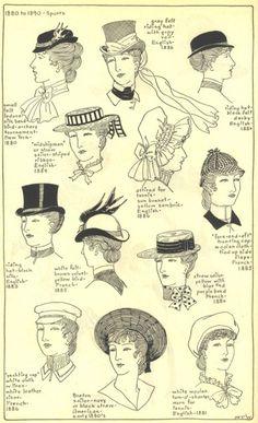 Victorian Hats (Sports)