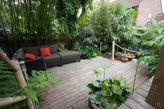 Full of greenery and privacy