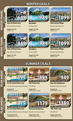 Punta Cana Vacation Specials with Air from Atlanta 4 nights all-inclusive from $649