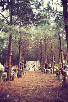Rustic DIY Wedding -  Caitlin Josh