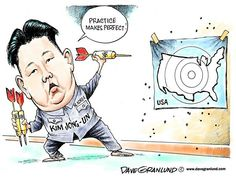The world power is so important that the atomic bombs are more important than the population  of Nort  Korea.