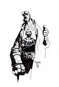 Hellboy, Mike Mignola