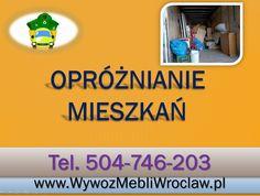 Wywóz używanych mebli, tel 504-746-203, odbiór zbędnych rzeczy, utylizacja, wywózka gabarytów, Wrocław.