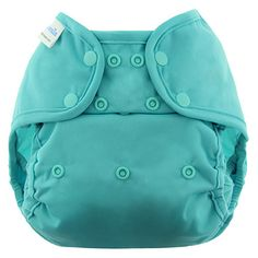 This one-size diaper cover will fit babies from 10 pounds up to 40 pounds. About 2 months through 3 years old. Simply change the 3x3 snaps to adjust to your desired size.