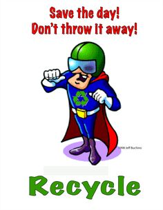 Remember to recycle plastic poster | Use resources wisely ...