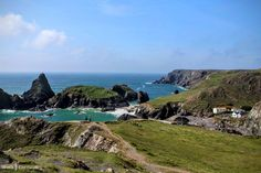 Coastline near Kynance Cove, Cornwall