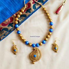 Indian jewelry Terracotta jewelry Ethnic jewelry Jhumkas