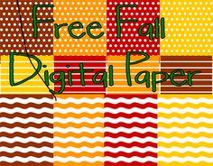 Classroom Freebies: Fall Digital Papers