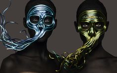 'Memento Mori' photography by Rankin. Make up by Andrew Gallimore. http://www.hungertv.com/feature/memento-mori/