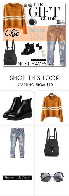 """www.sheinside.com"" by mery1991 ❤ liked on Polyvore featuring Michael Kors, WithChic, Abercrombie & Fitch, rag & bone, DutchCrafters, Wood Wood, Wet Seal and Sheinside"
