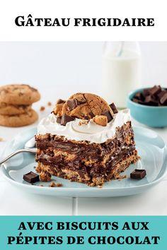 Fait de biscuits et de crème fouettée au chocolat maison, ce décadent gâteau frigidaire vous permettra de vous régaler de la meilleure des façons!