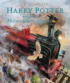 A new illustrated edition of the timeless first book from author J.K. Rowling. Rescued from the outrageous neglect of his aunt and uncle, a young boy with a great destiny proves his worth while attending Hogwarts School of Witchcraft and Wizardry.