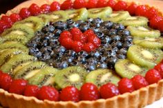 Fruit Tart | Easy Fruit Tart