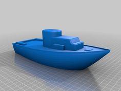 Toy Boat by KellyBC - Thingiverse