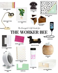 The Everygirl's 2014 Holiday Gift Guide for the Worker Bee #theeverygirl