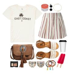 """East Coast"" by sophiehackett ❤ liked on Polyvore featuring Billabong, Étoile Isabel Marant, Yves Saint Laurent, Aéropostale, Pols Potten, Sagaform, NARS Cosmetics, BaubleBar, Korres and Astley Clarke"