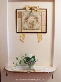 2013年6月29日***「Chez Mimosa シェ ミモザ」   ~Tassel&Fringe&Soft furnishingのある暮らし  ~   フランスやイタリアのタッセル・フリンジ・  ファブリック・小家具などのソフトファニッシングで  、暮らしを彩りましょう     http://passamaneriavermeer.blog80.fc2.com/